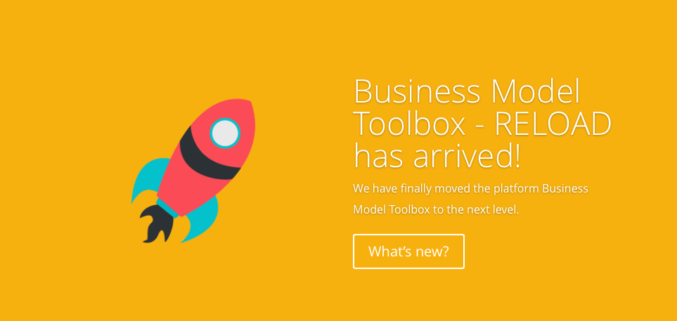 Business Model Toolbox – RELOAD has arrived!